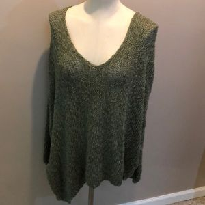 Free People NEW light weight sweater size M